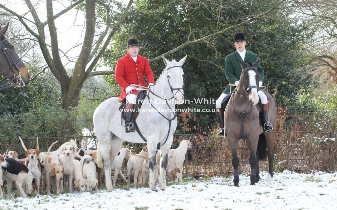 West Norfolk Foxhounds visit Waveney Harriers 30.1.19