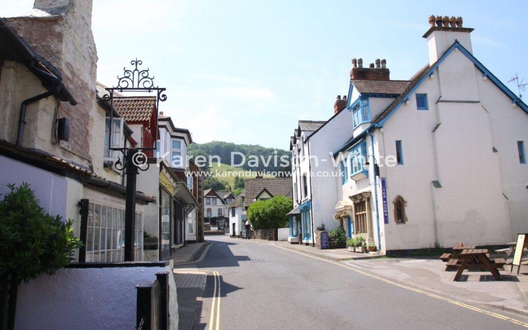 Porlock, Somerset.