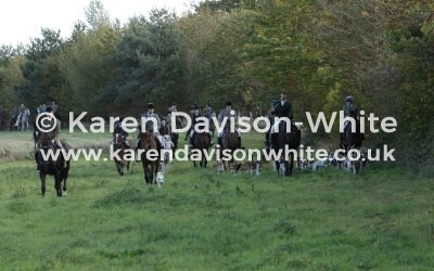 Waveney Harriers at Heckingham Hall, Norfolk 13.10.18
