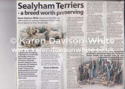 Sealyhams Countryman's Weekly 15sep10